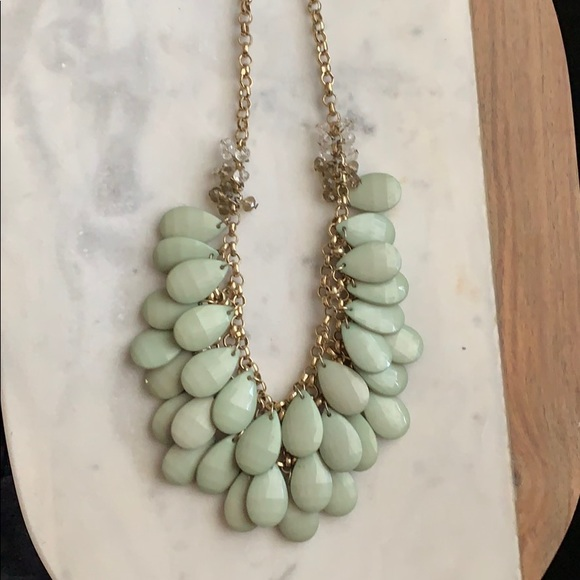 Francesca's Collections Jewelry - Green statement necklace